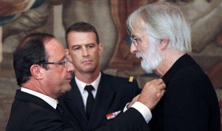Михаэль Ханеке стал кавалером Ордена Почетного легиона