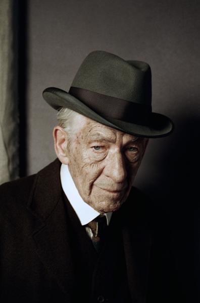 Иэн МакКеллен стал пожилым «Мистером Холмсом»