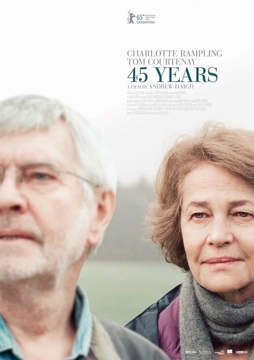 """Постер и трейлер британской драмы """"45 лет"""""""
