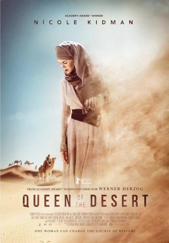 Трейлер и постер «Королевы пустыни» Вернера Херцога с Николь Кидман