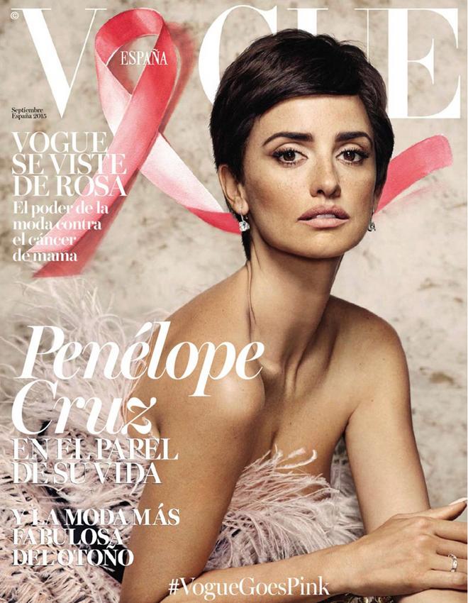 Пенелопа Крус в фотосессии Vogue España сентябрь-2015