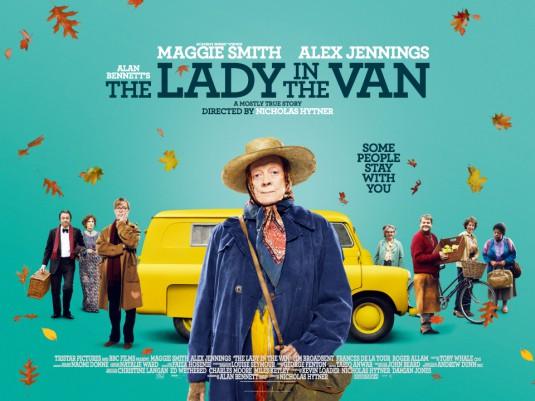 «Леди в фургоне» – новая британская комедия с Мэгги Смит