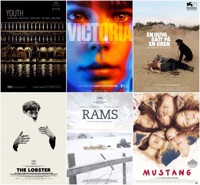 Номинанты на премию Европейской Киноакадемии-2015
