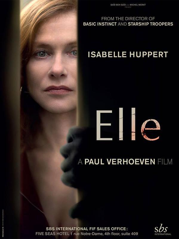 «Она» – новый фильм Пола Верховена с Изабель Юппер
