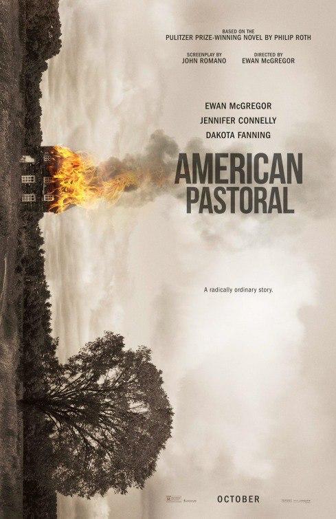 Трейлер и постер «Американской пасторали» Юэна МакГрегора