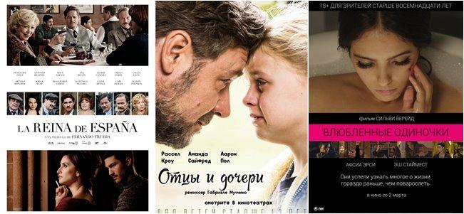 Российские кинопремьеры весны 2017
