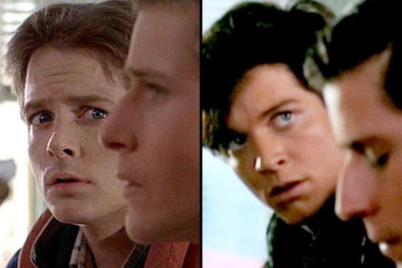 Какой актёр должен был играть в Марти в «Назад в будущее» - Фокс и Штольц