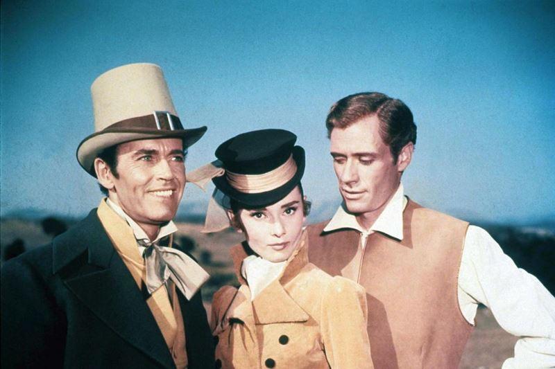 Актрисы в роли Наташи Ростовой - кадр из фильма «Война и мир» (1956)
