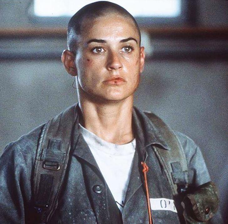 Фильмы с Деми Мур («Худшая актриса года») - «Солдат Джейн» (1997)