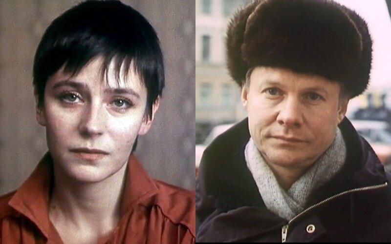 Актёры фильма «Зимняя вишня» - Елена Сафонова и Виталий Соломин