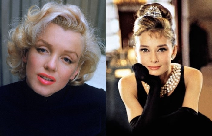 Актрисы отказались от роли из-за репутации - Мэрилин Монро и Одри Хепберн