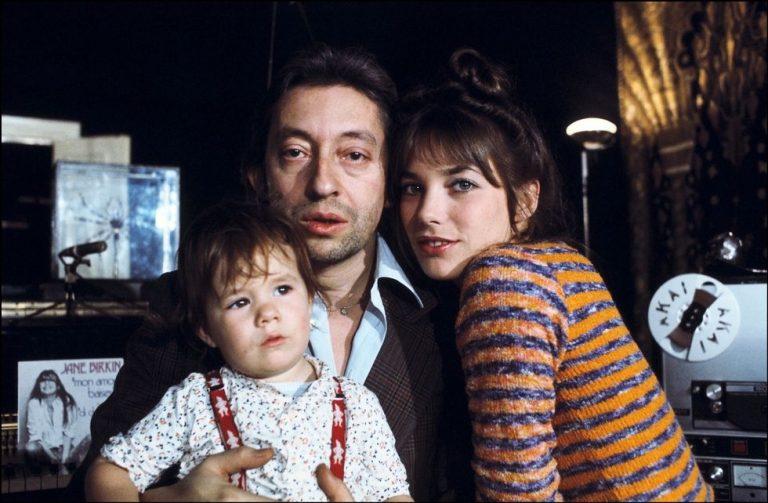 Муж и дети Шарлотты Генсбур - с родителями