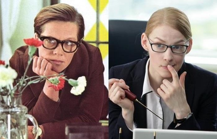 Актёры фильма «Служебный роман» 1977 и 2011 - Алиса Фрейндлих и Светлана Ходченкова