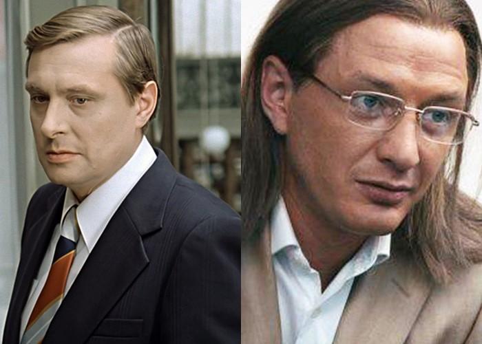 Актёры фильма «Служебный роман» 1977 и 2011 - Олег Басилашвили и Марат Башаров
