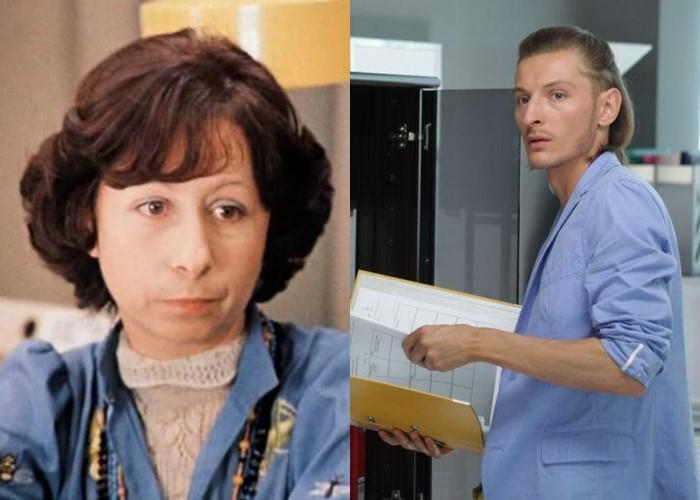 Актёры фильма «Служебный роман» 1977 и 2011 - Лия Ахеджакова и Павел Воля