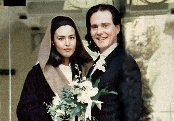 Клаудио Карлос Бассо, первый муж Моники Беллуччи - в день свадьбы