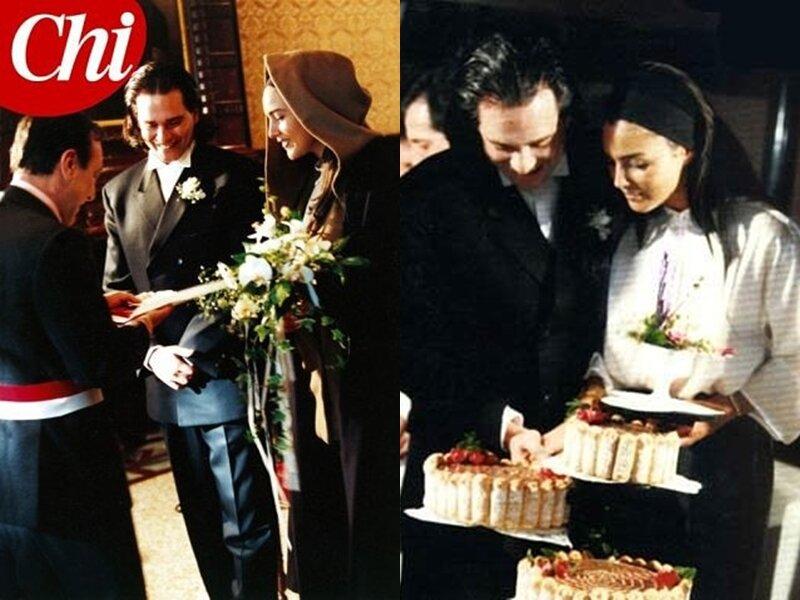Клаудио Карлос Бассо, первый муж Моники Беллуччи - свадьба