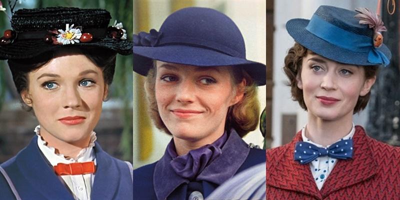 Само совершенство: три Мэри Поппинс мирового кино