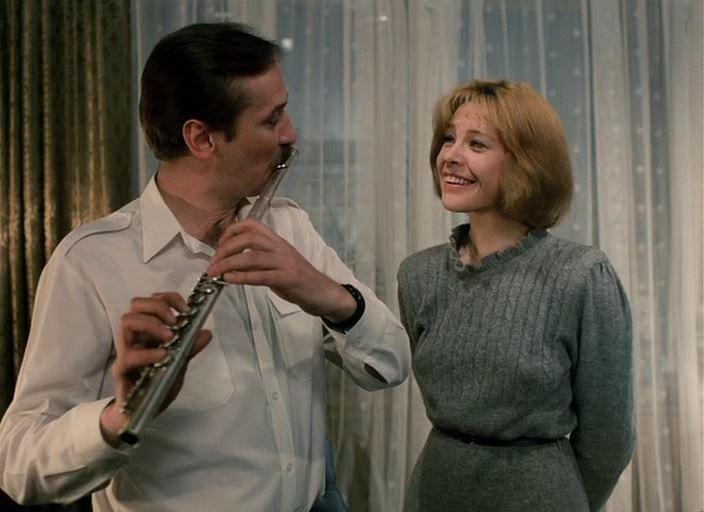 Советские фильмы о супружеской измене - «Забытая мелодия для флейты» (1987)