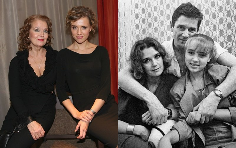 Актрисы с известными родителями - Ксения Алфёрова