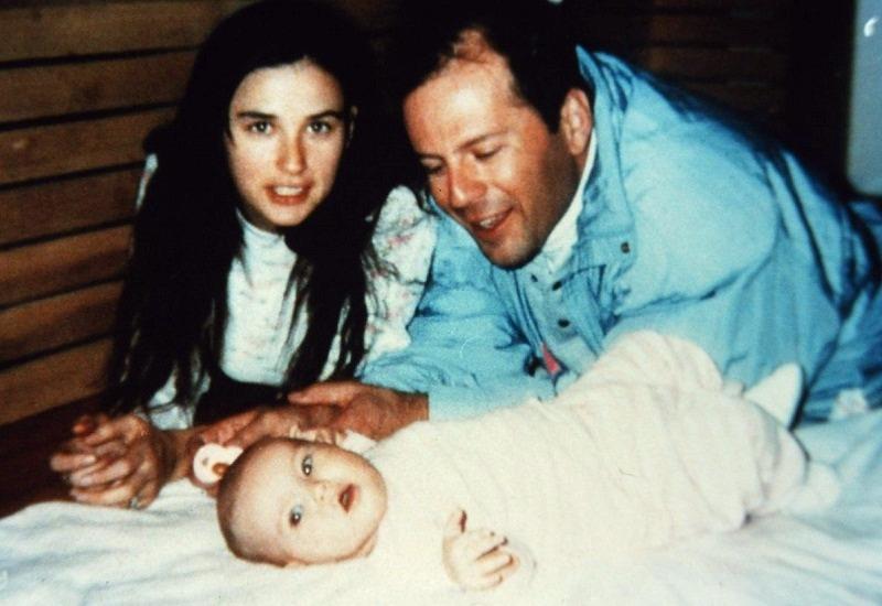 Три девицы: какими выросли дочери Деми Мур и Брюса Уиллиса, которых назвали необычными именами