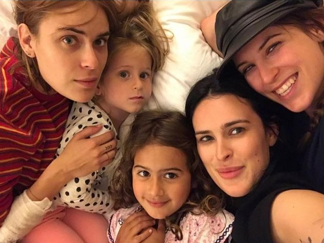 Дочери Деми Мур и Брюса Уиллиса - пять дочерей