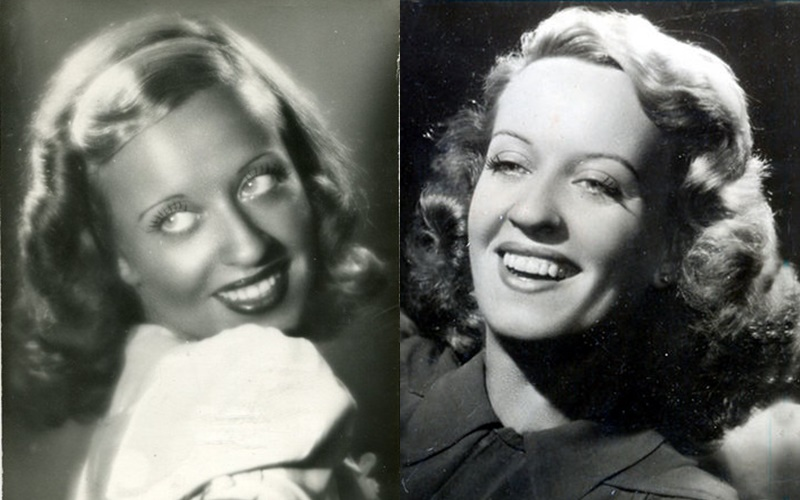 Лидия Ламайсон - Молодая актриса в 30-40-е годы