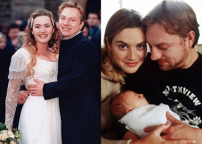 Дочь Кейт Уинслет Миа Хани Триплтон - на свадьбе и с новорождённой дочкой