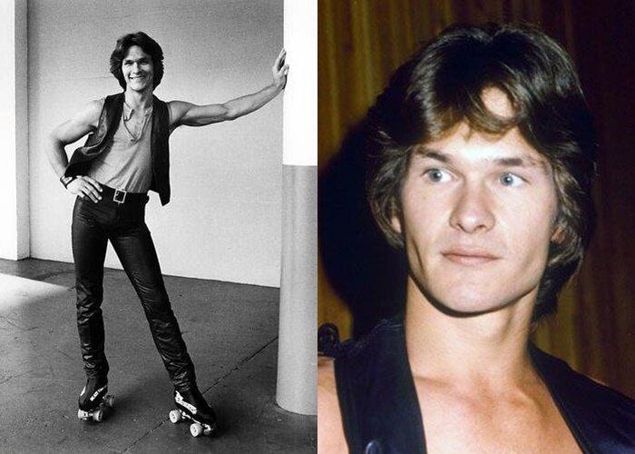 Патрик Суэйзи - жена и дети - Молодой танцор на роликах в 70-е годы