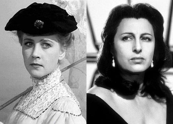 Советские актёры, которыми восхищались на Западе - Ия Саввина