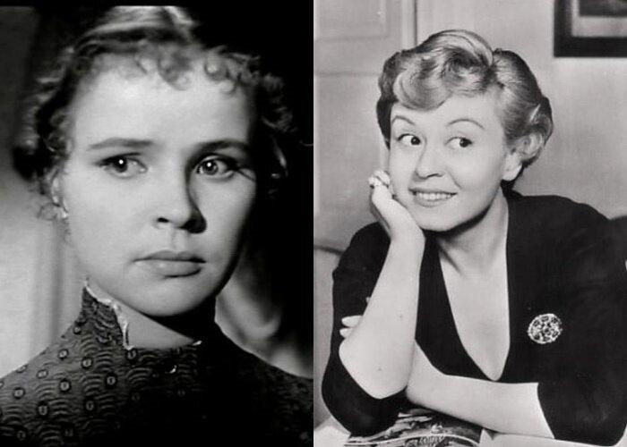 Советские актёры, которыми восхищались на Западе - Тамара Сёмина