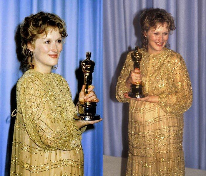 """Актрисы, получившие Оскар"""" беременными - Мерил Стрип"""