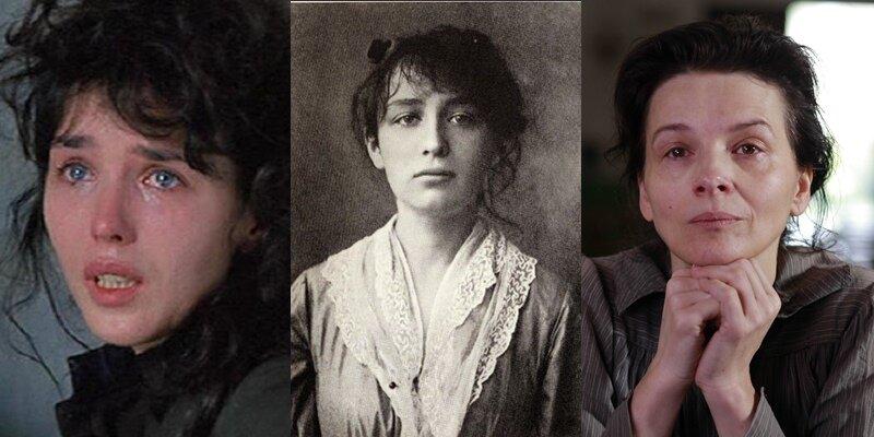 Актрисы в роли великих женщин - Изабель Аджани и Жюльет Бинош