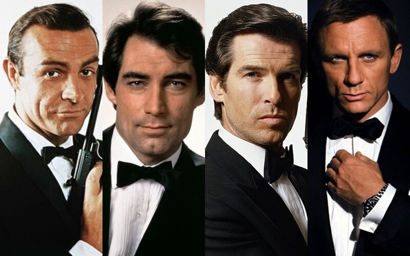 Брутальный сердцеед: 6 актёров, которые сыграли Джеймса Бонда