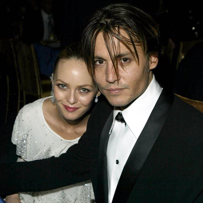 История любви Джонни Деппа и Ванессы Паради - Оскар-2004