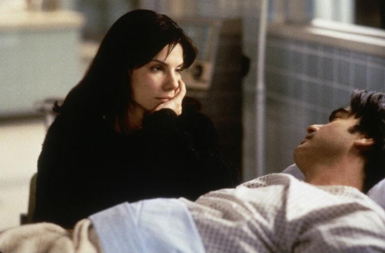 Фильмы от которых отказалась Джулия Робертс - «Пока ты спал» (1995)