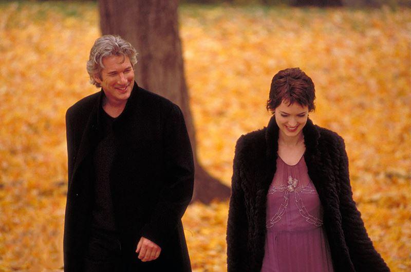Фильмы о любви юной девушки и взрослого мужчины - «Осень в Нью-Йорке»