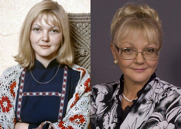 Советские актрисы с фамилиями бывших мужей - Марина Дюжева – Кукушкина