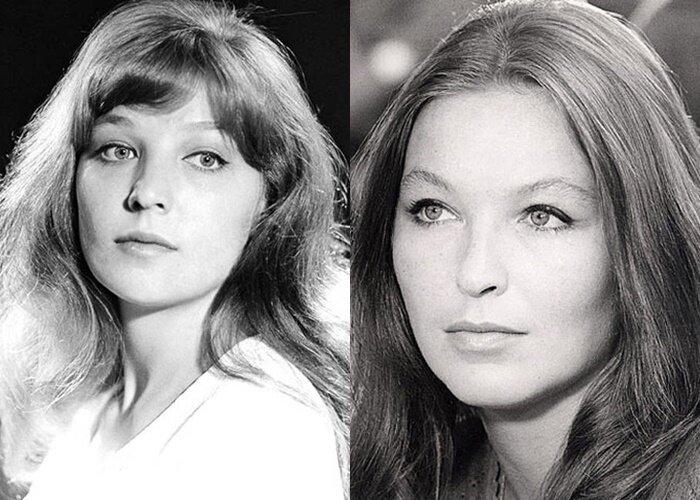 Советские актрисы, похожие на западных звёзд - Ольга Остроумова – Марина Влади