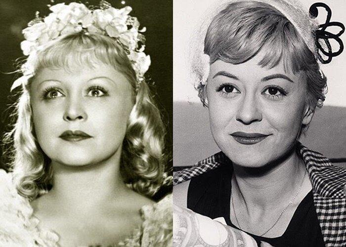 Советские актрисы, похожие на западных звёзд - Янина Жеймо – Джульетта Мазина