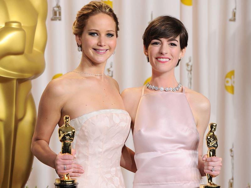 Актрисы с незаслуженными «Оскарами» - Дженнифер Лоуренс и Энн Хэтэуэй