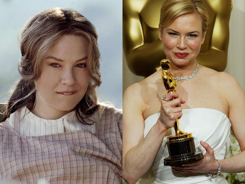 Актрисы с незаслуженными «Оскарами» - Рене Зеллвегер («Холодная гора»)