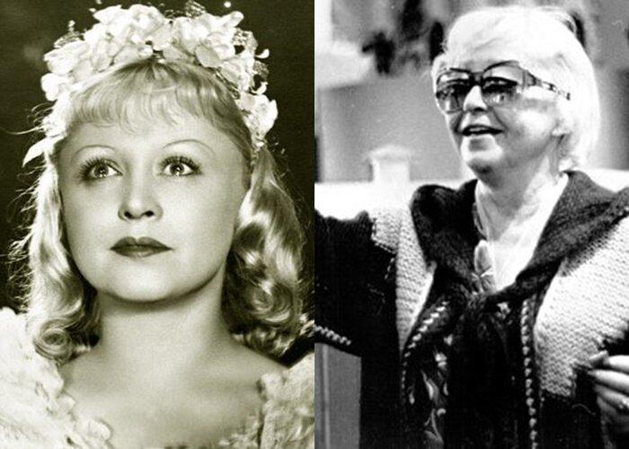 Советские актрисы, которые эмигрировали навсегда - Янина Жеймо