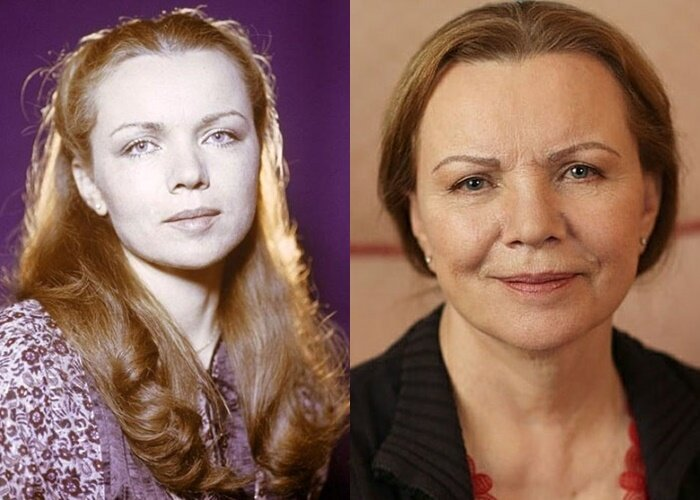 Советские актрисы в российском кино - Валентина Теличкина