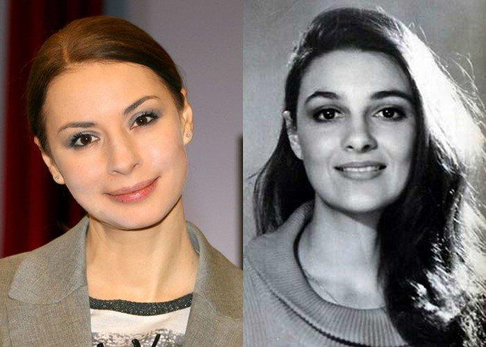 Российские актрисы дочери советских звёзд - Ирина Лачина