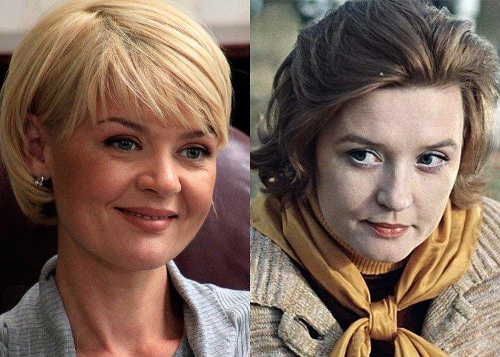 Российские актрисы дочери советских звёзд - Юлия Меньшова