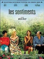 Чувства, Les sentiments, Франция, 2003