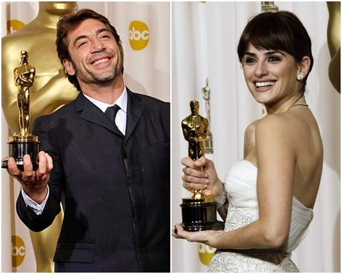 Хавьер Бардем и Пенелопа Крус на Оскаре