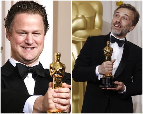 Флориан Хенкель фон Доннерсмарк и Кристоф Вальц на Оскаре