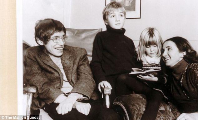 Стивен хокинг с женой джейн и детьми